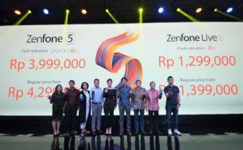 Peluncuran ZenFone 5 5Z dan ZenFone Live 1